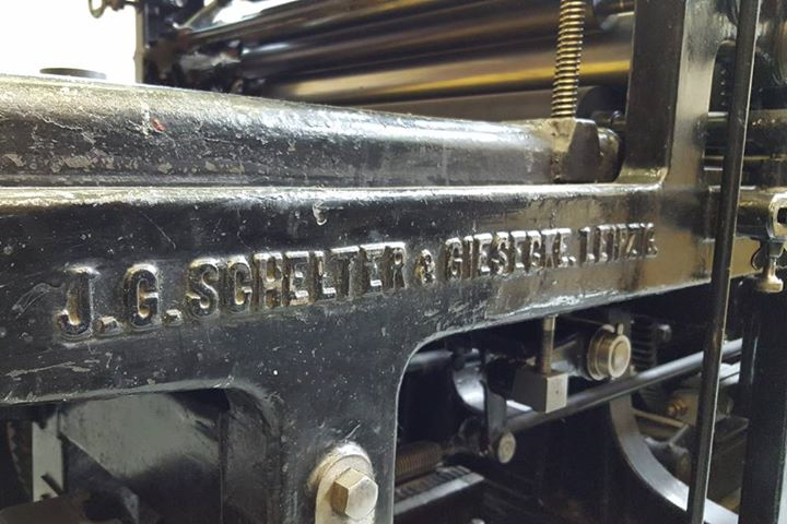 Schelter & Giesecke HA2 (1925), Original Heidelberger Zylinder (1954), Johannisberger Schnellpresse (1924)