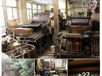 Anfang März berichteten wir von der Auflösung der Buchdruckerei Hans Bauer in Hof. Dass sich heute w...