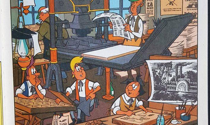 Die Helden unserer Kindheit waren Drucker ... na ja, nicht ganz, aber Die Digedags waren schon cool....