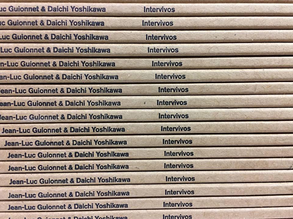 Plattencover: Intervivos von Jean-Luc Guionnet & Daichi Yoshikawa.