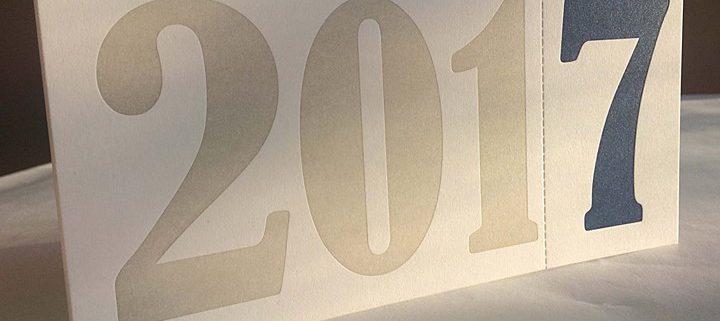 Für das Berliner Ingenieurbüro Weltzer druckten wir Neujahrskarten auf Karton mit 300 g auf dem Orig...