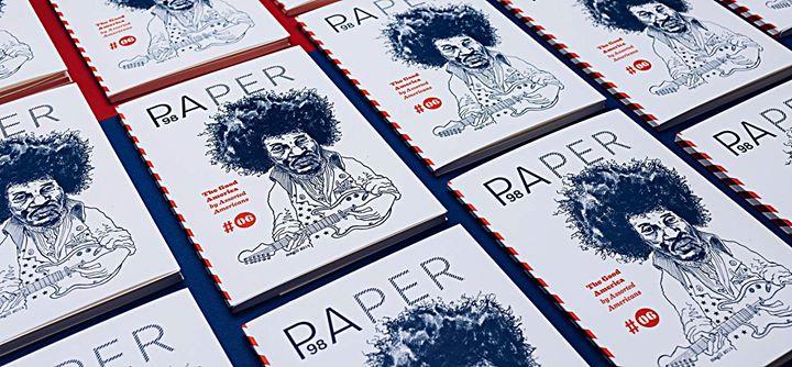 """Für die Galerie p98a druckten wir die sechste Ausgabe der Zeitschrift Paper """"The Good America"""" – kom..."""