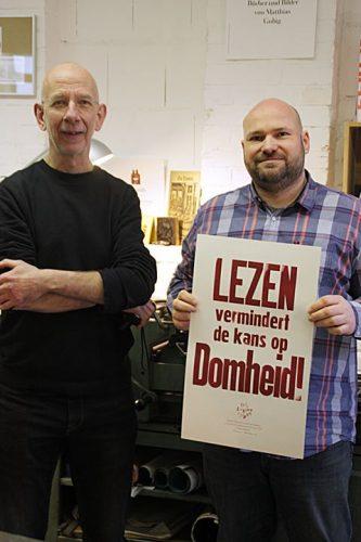 Gestern besuchte uns Thomas Gravemaker von LetterpressAmsterdam für eine gemeinsame Printsession. Na...