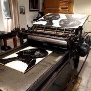 Hier noch ein paar Eindrücke von der (Wieder)Eröffnung der Werkstatt Rixdorfer Drucke – umgangssprac...
