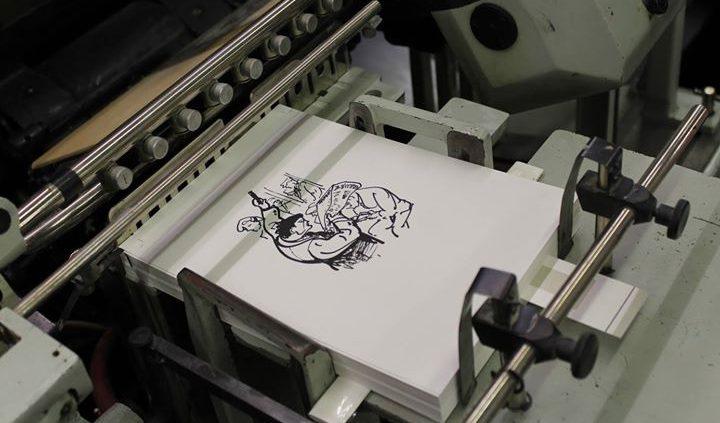 """""""Ohne Druck kein Buch"""" lautete das Motto des Berliner Bibliophilen Abend bei den Lettertypen. Im Mit..."""