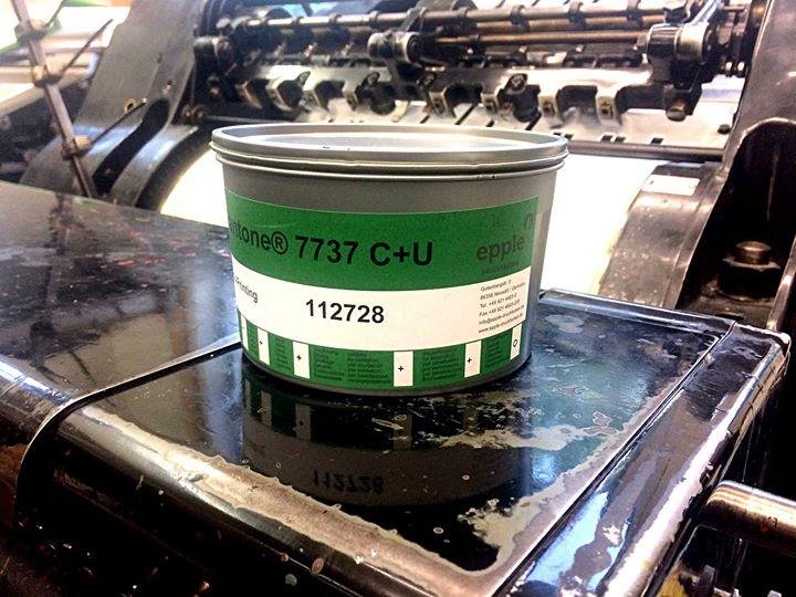 Wir möchten heute mal ein ganz großes Lob für die Epple Druckfarben AG, Servicecenter Berlin, ausspr...