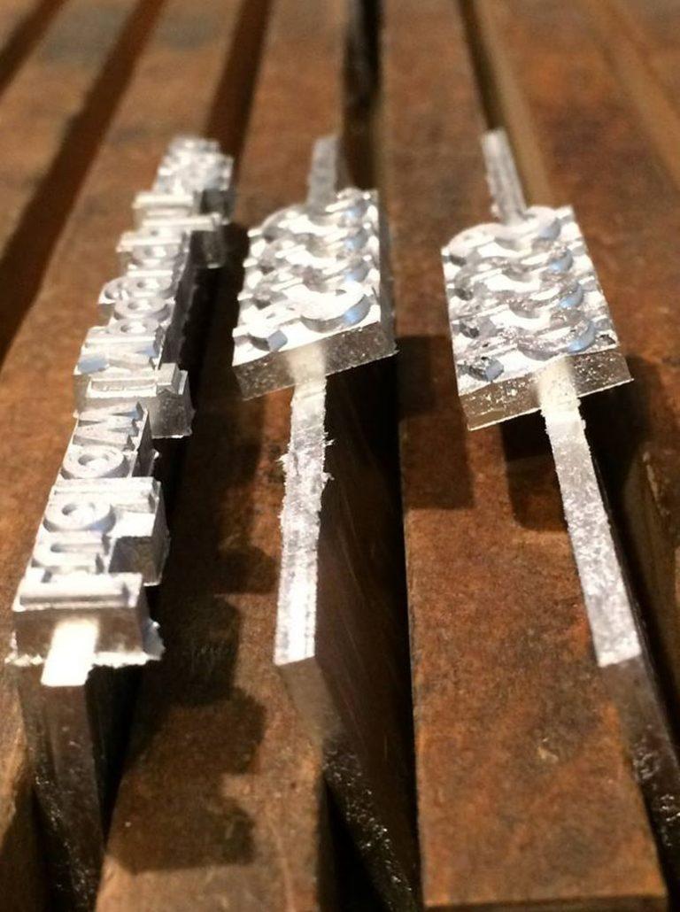 Letterpress, Buchdruck, Buchhochdruck, Handsatz, Maschinensatz