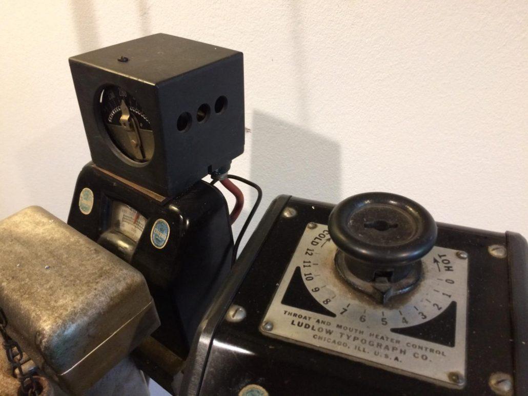 Ludlow Zeilensetzmaschine, Letterpress, Buchdruck, Buchhochdruck, Handsatz, Maschinensatz