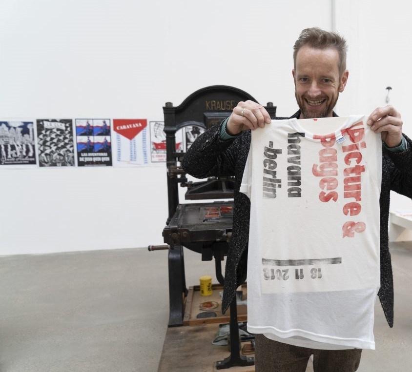 Offene Druckwerkstatt Buch und Bild Havanna – Berlin 2018 | Foto: Doreen Reichenbach/Reinbeckhallen