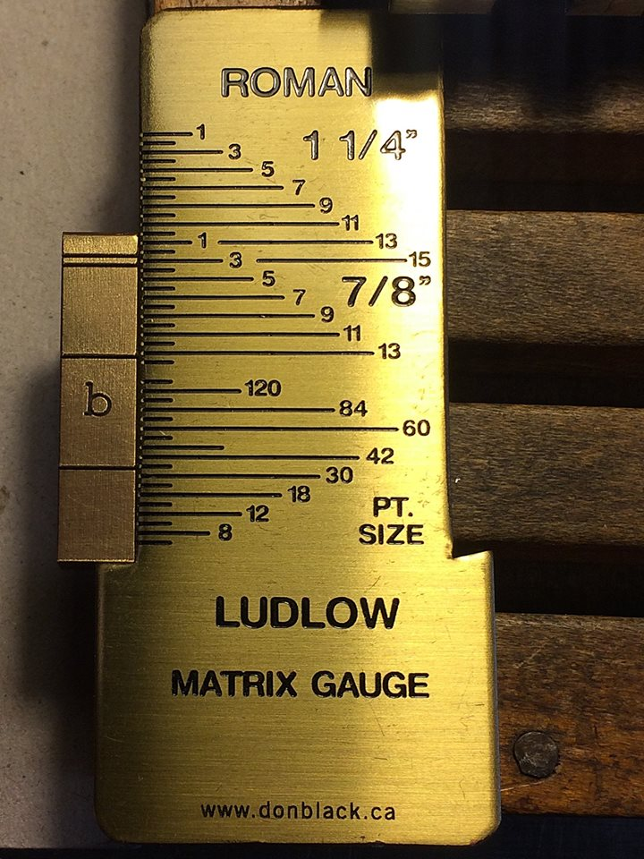 """Ludlow Matrix Identification Gauge"" von Don Black aus Toronto"